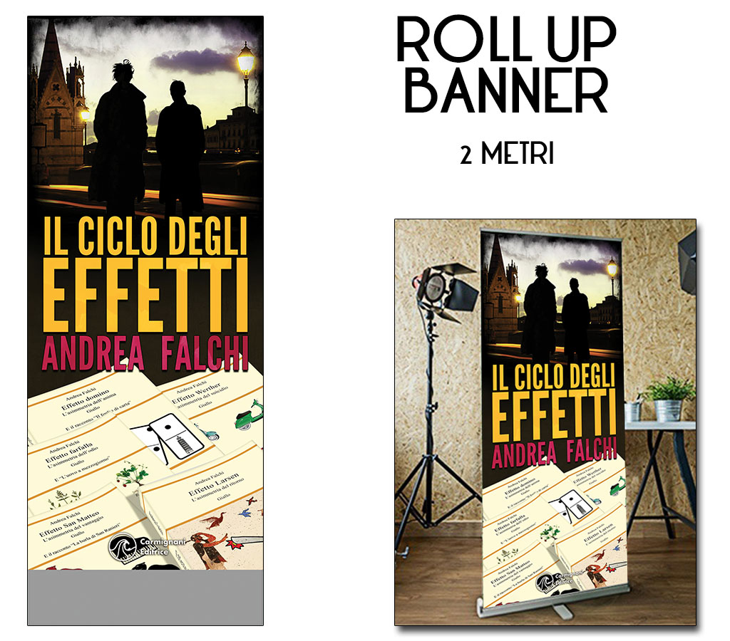 roll up grafica originale